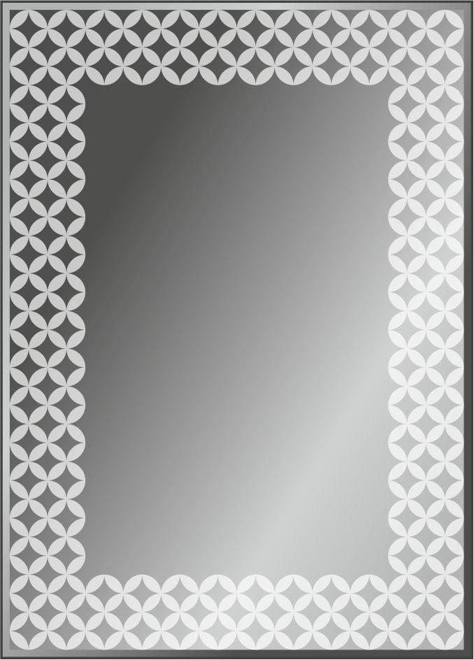 Серия зеркал GEOMETRY с пескоструйной обработкой