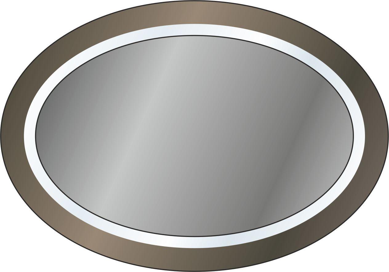 Зеркало овальное с подсветкой
