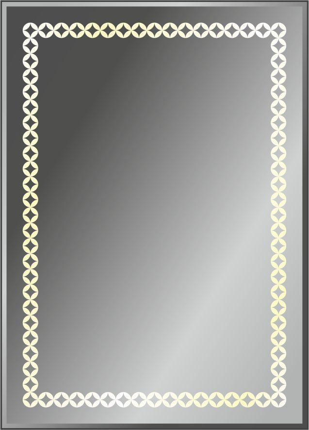 Серия зеркал GEOMETRY с подсветкой и пескоструйной обработкой