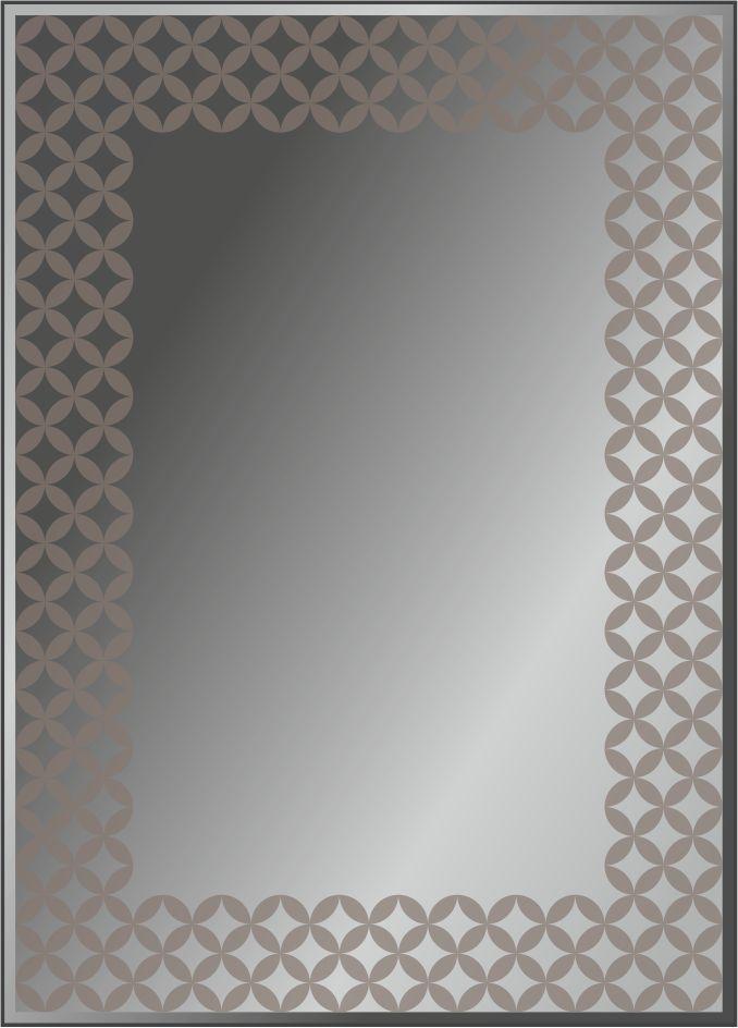 Серия зеркал GEOMETRY с пескоструйной обработкой и укрытием краской